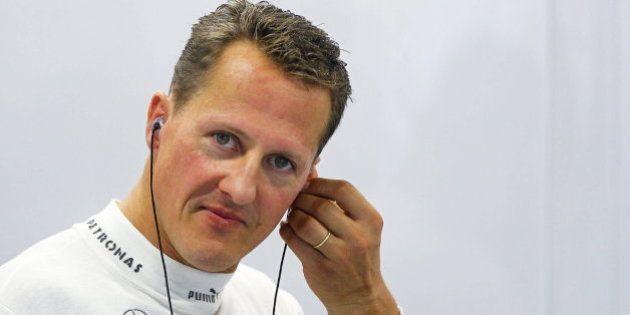 Michael Schumacher abandona el hospital nueve meses después para recuperarse en su