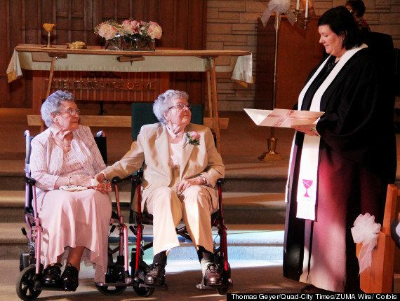 Pareja lesbianas: dos nonagenarias se casan en Iowa tras 72 años