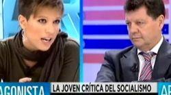 Beatriz Talegón cierra la boca a Alfonso Rojo