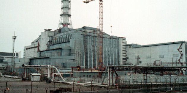 Sarcófago de Chernóbil: se derrumba una pared por la nieve