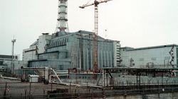 Derrumbe en el sarcófago de Chernóbil a causa de la nieve