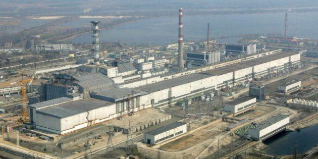 Parte del sarcófago que protege Chernobil se derrumba por la