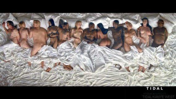 La feroz crítica de Lena Dunham al videoclip de la orgía de Kanye