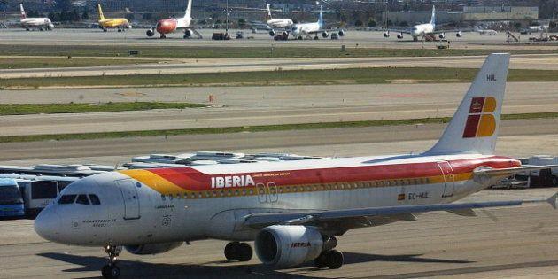 Listado de vuelos de Iberia cancelados por la huelga del 18 al 22 de febrero: 415 vuelos