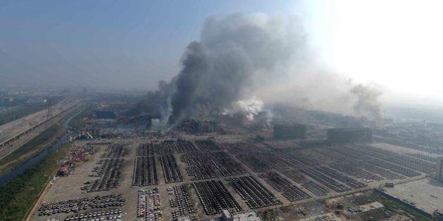 Explosiones de Tianjin: la devastación del décimo puerto más grande del