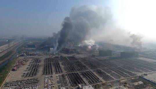 Fotos de la devastación de las explosiones en