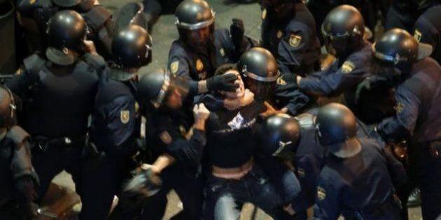 El derecho a manifestarse en España está amenazado, alerta