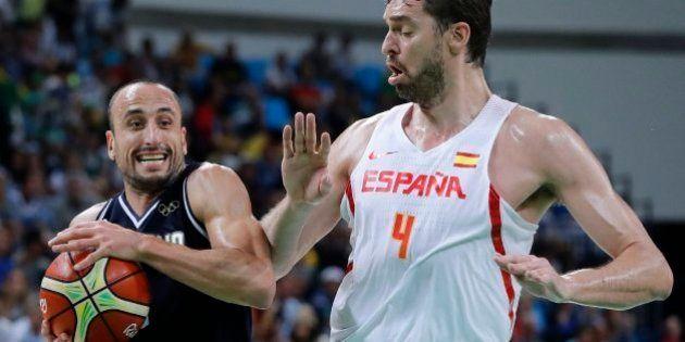 España arrolla a Argentina (92-73) y se medirá a Francia en