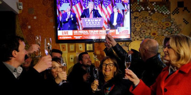 El pueblo de Melania Trump en Eslovenia celebra por todo lo alto la victoria de
