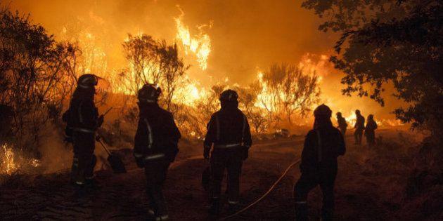 Cinco incendios permanecen activos en