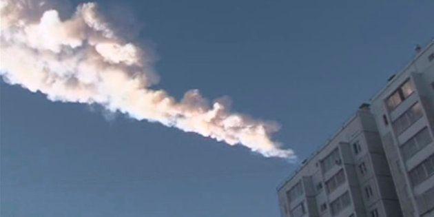 El meteorito caído en los Urales es el más dañino de los últimos años