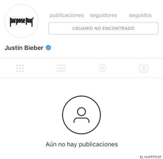 Justin Bieber borra su cuenta de Instagram tras una polémica a la que se sumó Selena