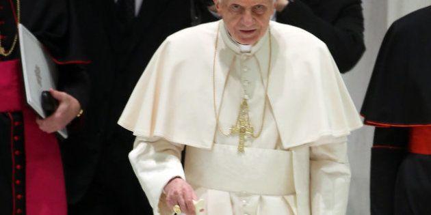 El papa Benedicto XVI estaba