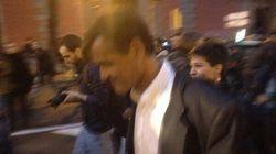 Abuchean y expulsan de la marcha a Talegón y López