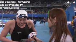 La nadadora china que enamoró a internet rompe el tabú de la