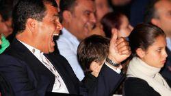 Presidente una década: Correa arrasa en las