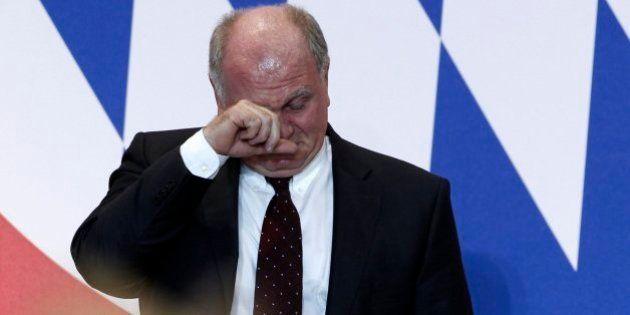 Uli Hoeness, presidente del Bayern de Múnich, condenado por evadir