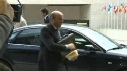 De Guindos se lleva el 'tupper' a la reunión del Eurogrupo