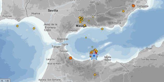 Un terremoto de magnitud 4,5 se siente en Málaga pero no causa