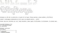 Anonymous 'hackea' los Goya y publica teléfonos de