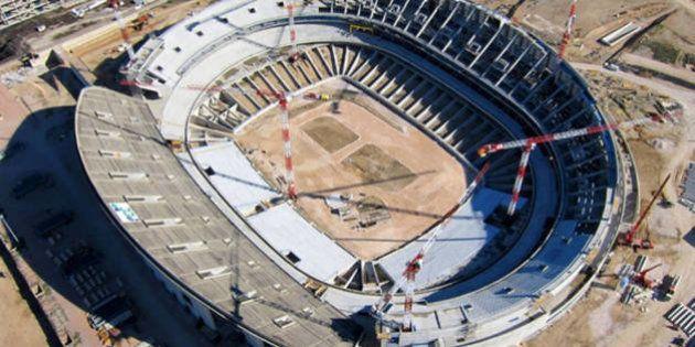 El Atlético de Madrid desmiente que su nuevo estadio se vaya a llamar