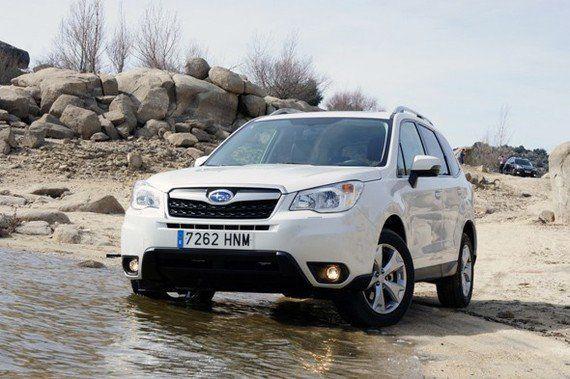 Nos montamos en el nuevo Subaru