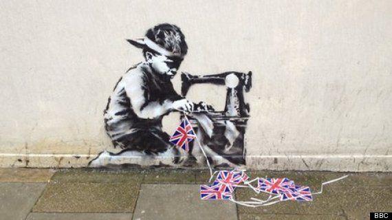 Un Banksy desaparece en Londres y reaparece en una subasta en Estados Unidos valorado en 500.000