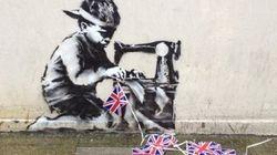 Un Banksy desaparece en Londres y reaparece en una subasta en Estados
