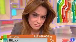 Un espectador pide a Toñi Moreno en directo que done parte de su sueldo