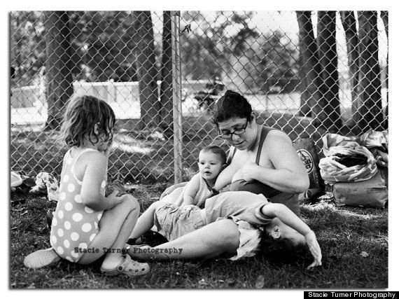 Lactancia materna en la vida real: la serie fotográfica 'Breastfeeding in Real