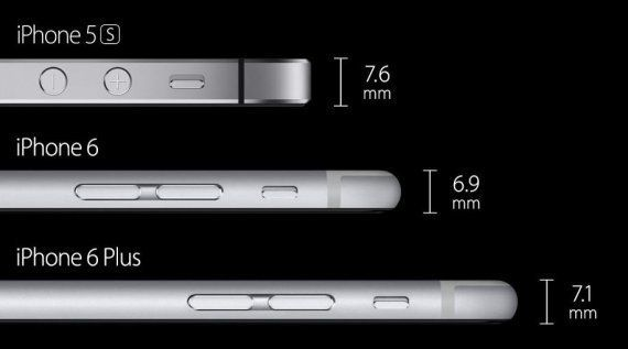 Novedades Apple: así son el iPhone 6, el iPhone 6 Plus y el Apple