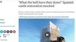 Restauran este castillo de Cádiz... y el resultado ya se compara con el 'Ecce
