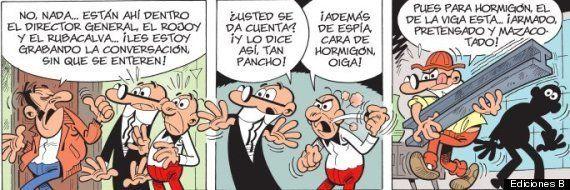 Mortadelo, Filemón... y Rojoy y Rubacalva y el espionaje: así lo dibujo Ibáñez