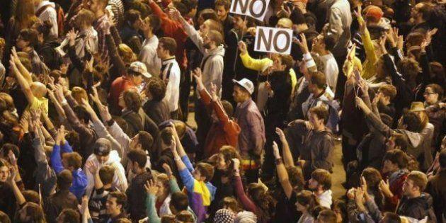 La Delegación del Gobierno desplegará 1.500 antidisturbios para unos 600.000 manifestantes en la 'Marea...