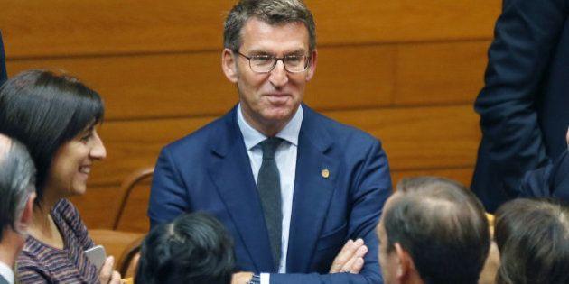 Núñez Feijóo, investido por tercera vez como presidente de la