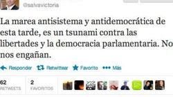 El Gobierno de Madrid califica la 'Marea Ciudadana' de