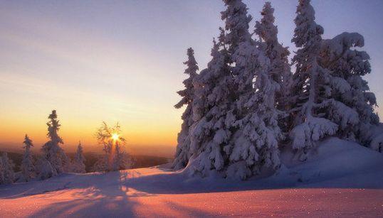 La heladora belleza en los Urales