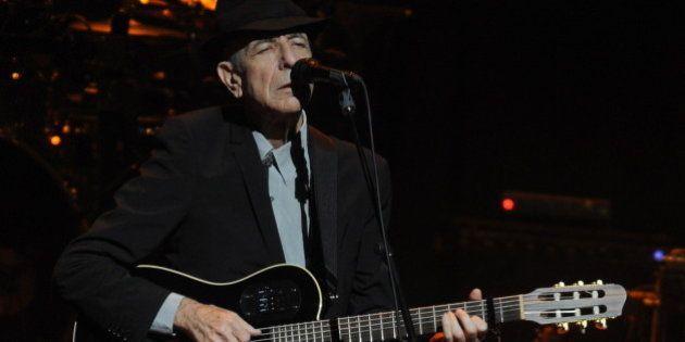12 canciones para recordar a Leonard Cohen