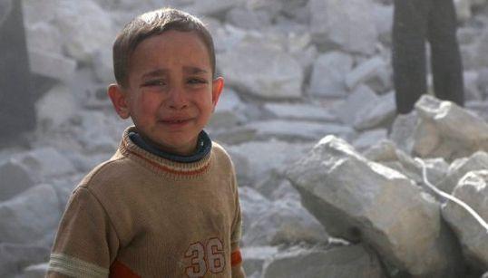 Once datos sobre los niños en Siria tras tres años de guerra