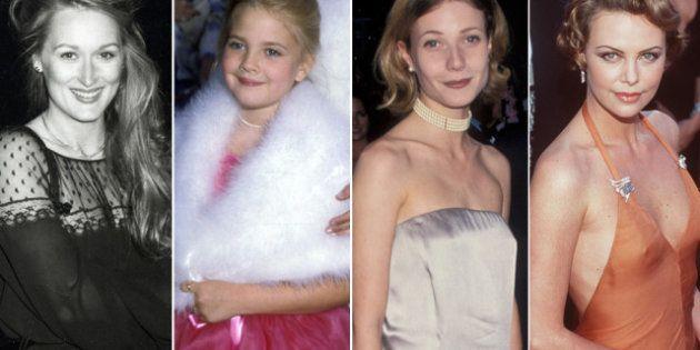 Sus primeros Oscar: así dieron sus primeros pasos en la alfombra roja las estrellas