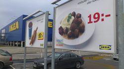 Ikea retira las albóndigas de sus restaurantes en
