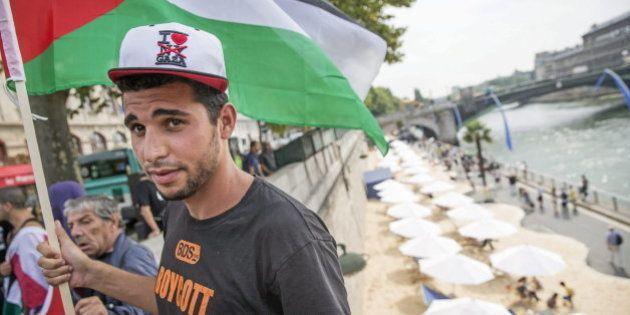 Una playa dedicada a Tel Aviv en París desata las críticas a un año de la ofensiva de