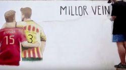 Sergio Ramos y Piqué, en el nuevo vídeo electoral de Junts pel