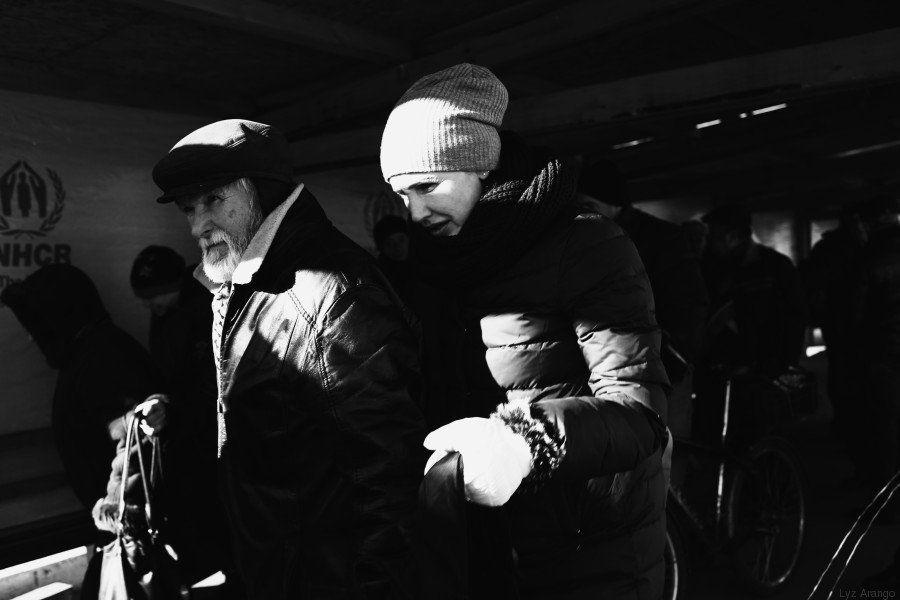 Atrapados en Ucrania: el último