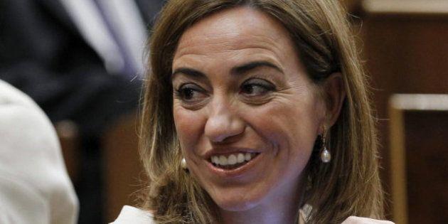 Carme Chacón se opone al derecho a decidir y pone su escaño a disposición del
