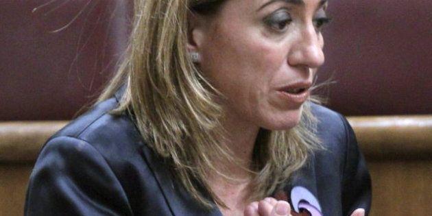 Enfado en el PSOE con Carme Chacón por no votar contra la consulta