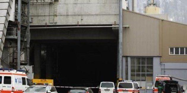 Tiroteo en Menznau (Suiza): Tres muertos y siete heridos en una fábrica de