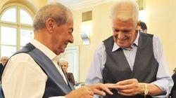 Franco y Gianni cumplen su sueño: se casan a los 80 años en