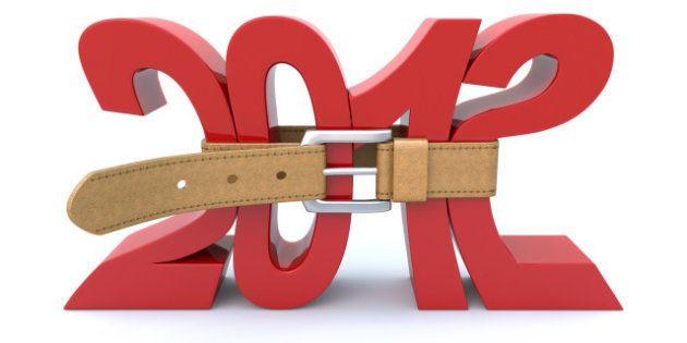 La economía española cayó un 1,4% en 2012, una décima más de lo