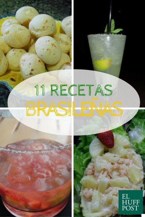 Once recetas brasileñas para alargar el sabor de los Juegos